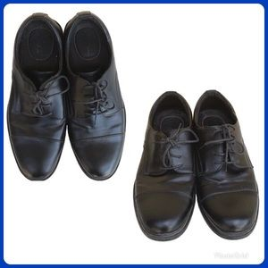 Dexter dress shoes 8.5 great condition black uln